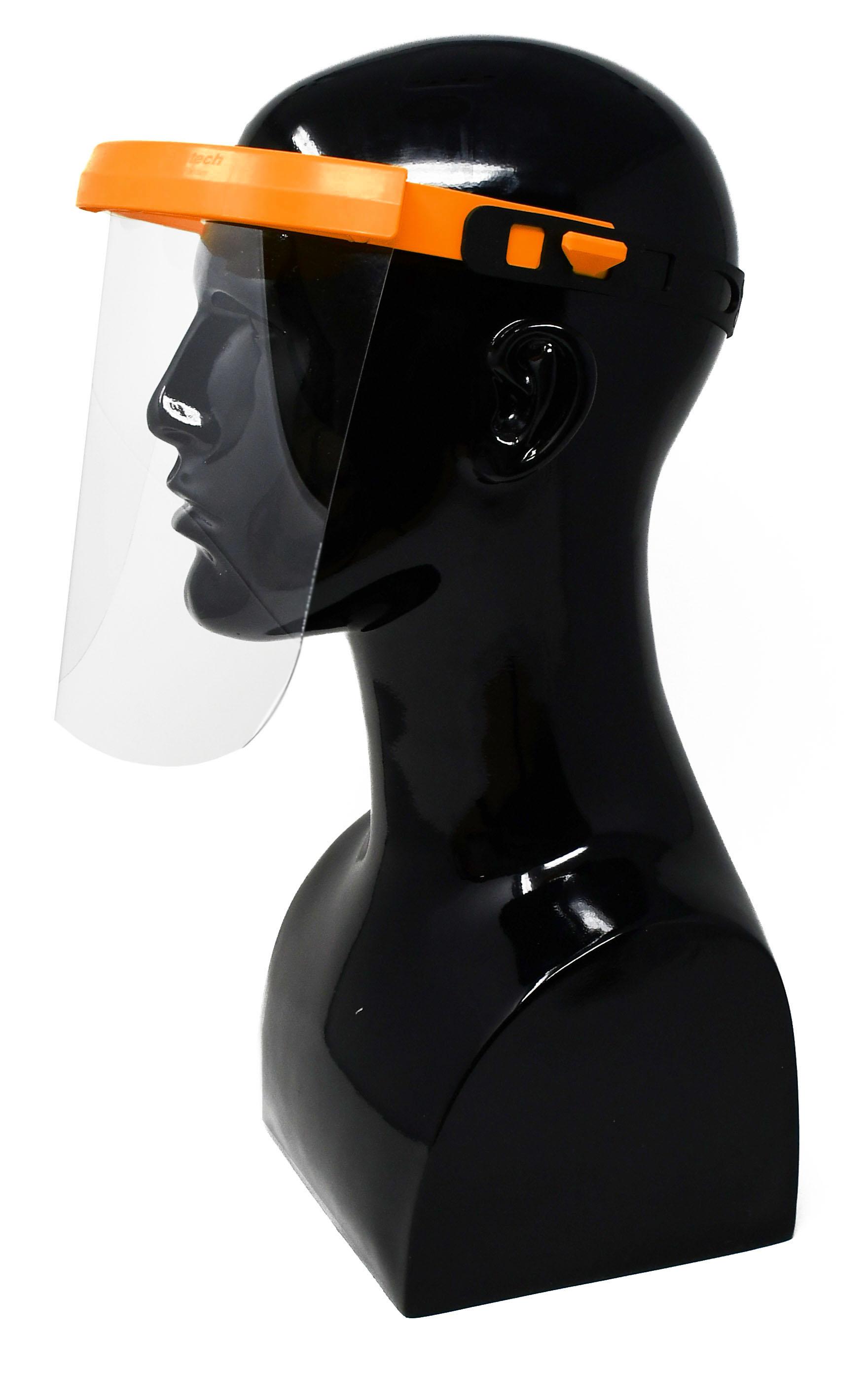 Gesichtsschutz- / Spuckschutzvisier 180mm Visier - 9 Farben