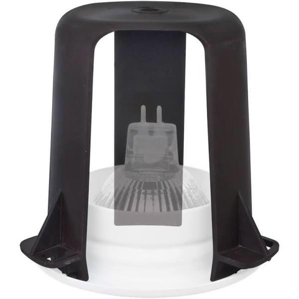 Abstandhalter Deckenabstandshalter Hitzeschutz für LED und Halogen Einbauleuchten Einbaustrahler Einbauspots