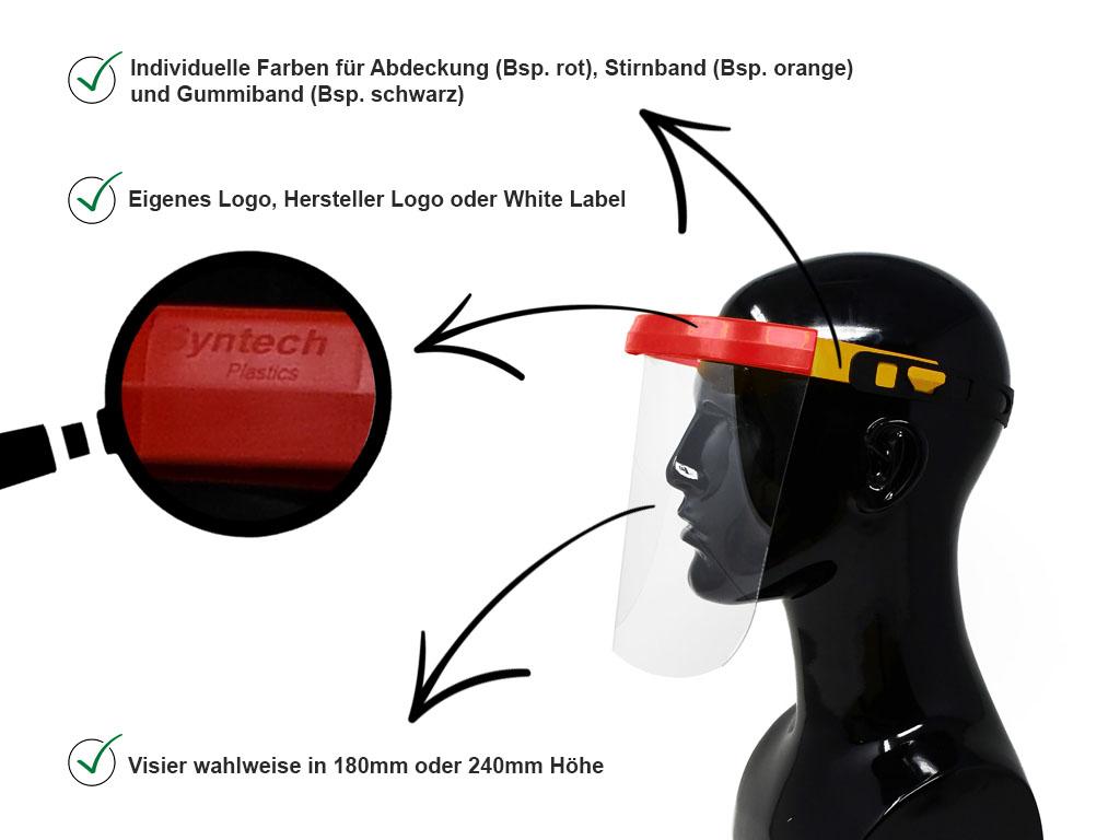 Individualisierter Gesichtsschutz