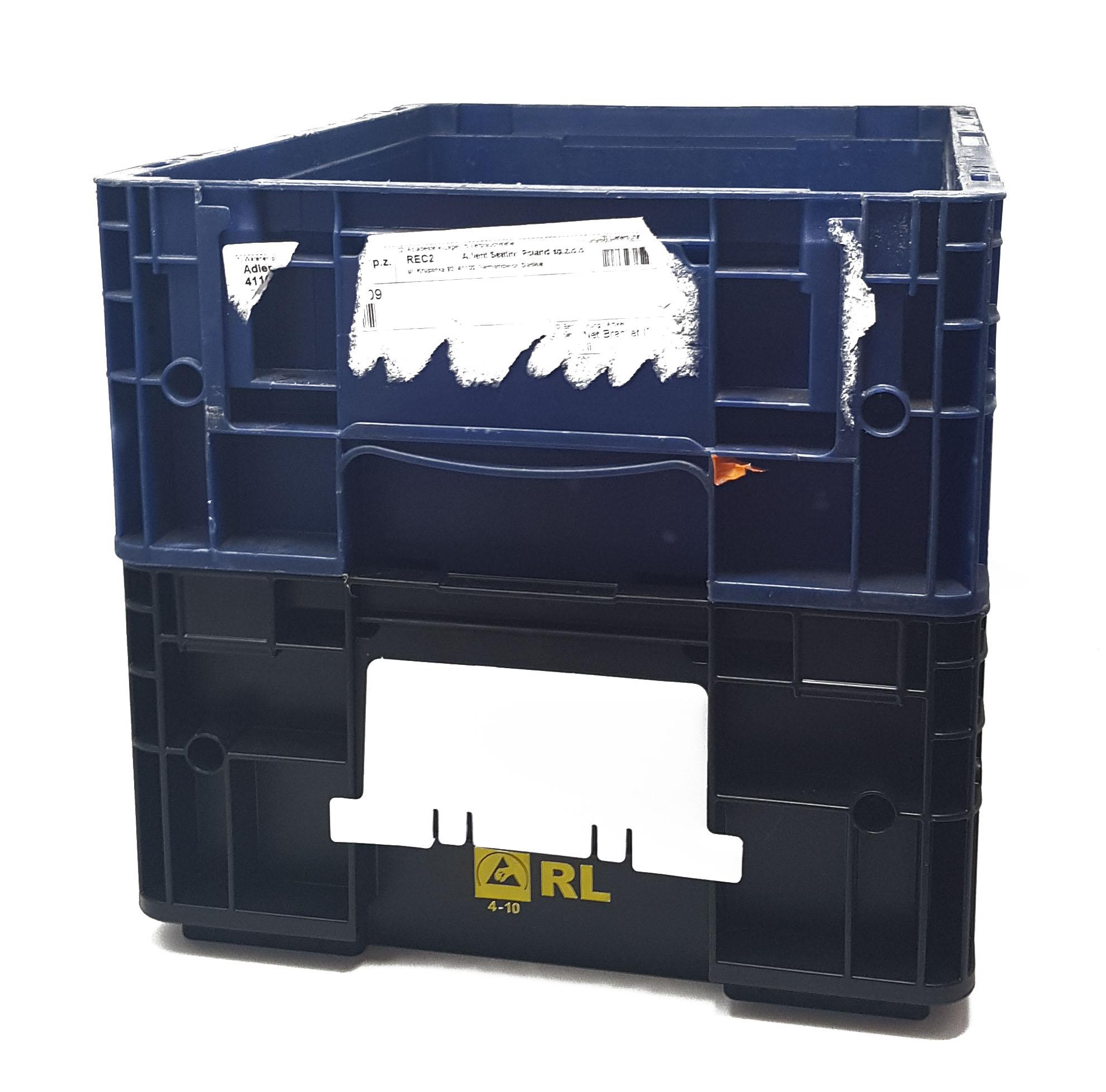 KLT Labelträger Wechsellabel Mehrweglabel